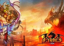 Heroes Online có lối chơi tương tự như TS Online