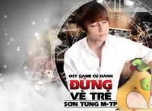 """""""Hoàng tử mưa"""" Sơn Tùng M-TP tung album nhạc game Củ Hành"""