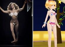 """Bikini """"vỏ sò"""" của Lady Gaga bước vào 2U"""
