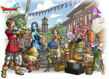 Dragon Quest X sẽ được phát hành phiên bản tiếng Anh