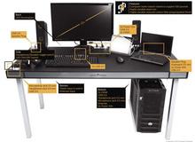 """Paradise Desk - Chiếc bàn """"thiên đường"""" cho game thủ"""