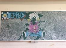 Nghệ thuật bảng phấn của học sinh Nhật Bản