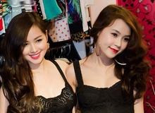 Khoảnh khắc hot girl Việt giống hệt nhau