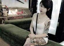 Cô gái xăm trổ hút hơn 90.000 lượt like trên mạng