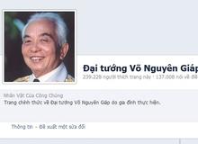 Những bức ảnh quý giá trên facebook chính thức về Đại tướng
