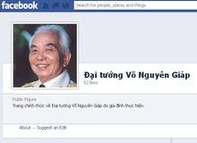 Gia đình lập trang Facebook chính thức về Tướng Giáp