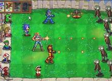 Mega Man, Mario, Contra cùng diệt zombie