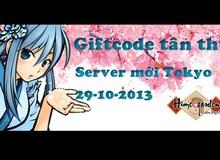 Vườn Mỹ Nữ tặng giftcode server mới Tokyo