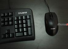 Combo phím chuột Zalman K380: Chất lượng trung bình khá
