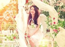 Hot girl Linh Miu hoá thiên thần trong Thần Tài Dự Đoán