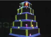 Lấy bánh cưới làm màn hình chơi game