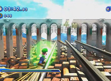 "Luigi ""tổ lái"" trong Sonic Generations"
