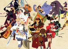 Khi các công chúa Disney hóa thân vào Final Fantasy