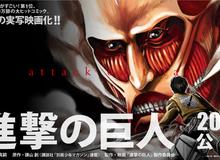 Phim Attack on Titan lộ diện thời điểm ra mắt
