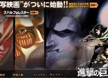 Attack on Titan sẽ được đưa lên màn ảnh