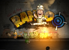 """Game bắn súng Rambo Lùn gợi nhớ tuổi thơ """"dữ dội"""""""