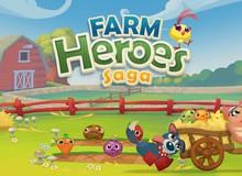 Hậu duệ Candy Crush Saga chính thức ra mắt với bối cảnh nông trại