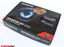 Đánh giá card đồ họa Gigabyte R7 250 OC: Không như kì vọng