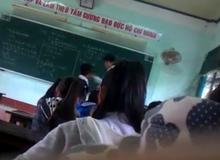 Ngỡ ngàng với clip học sinh đánh trả thầy giáo trên lớp