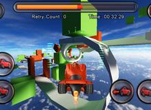 """Jet Car Stunts 2, đua xe phong cách """"dị"""" dành cho game thủ"""