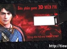 Cài đặt Tiếu Ngạo Giang Hồ 3D, nhận 5000 USB miễn phí