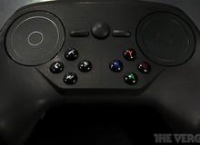 Cận cảnh tay cầm chơi game Steam Controller phiên bản mới