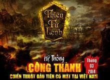 Hé lộ ảnh Việt hóa của Webgame Thiên Tử Lệnh