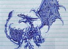 """""""Nguệch ngoạc"""" World of WarCraft bằng bút bi"""