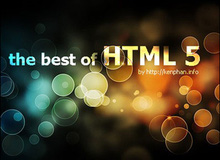 Cùng cảm nhận các hiệu ứng đẹp mắt trên nền tảng HTML5