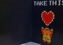 Thiệp tình yêu cho game thủ 4 nút