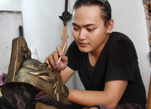 Gặp gỡ thanh niên chuyên làm giáp cosplay tại Việt Nam