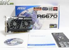 Đánh giá MSI HD 6670: Đế vương không nguồn phụ