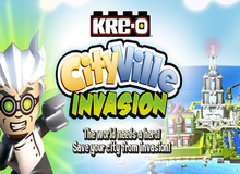 KRE-O CityVille Invasion - Game thủ thành mới nhất của Zynga