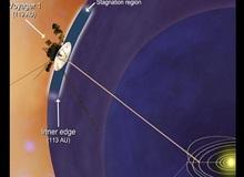 Tàu vũ trụ Voyager chuẩn bị vượt qua ranh giới hệ mặt trời