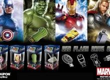 """InfoThink giới thiệu bộ USB mang phong cách siêu phẩm """"The Avengers"""""""
