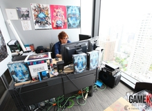 """Dạo một vòng trụ sở làm việc của """"cha đẻ"""" Final Fantasy"""