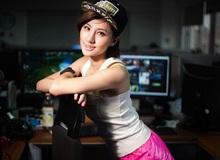 Girl xinh tranh tài tại giải đấu DOTA 2 chuyên nghiệp
