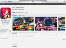 """King Online 2 """"oanh tạc"""" bảng xếp hạng iTunes thị trường Bắc Mỹ"""