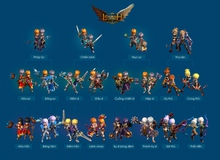 Tìm hiểu 4 class nhân vật King Online 2 trước giờ ra mắt