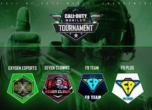 17h00 chiều nay – 4/12: Khởi tranh Bán kết Call of Duty Mobile Tournament