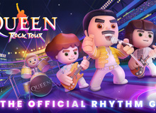 Queen Rock Tour – tựa game mobile độc quyền về ban nhạc Queen huyền thoại