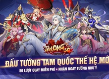 """Choáng với dàn hot boy, hot girl xuất hiện trong Tân OMG3Q VNG, game chiến thuật quy tụ toàn """"trai xinh gái đẹp"""""""