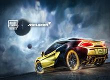 Hợp tác hãng xe McLaren, PUBG Mobile tung event hấp dẫn, siêu tốc bậc nhất làng game tháng 6