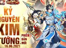 """Tân OMG3Q VNG tiếp tục ra mắt phiên bản mới Kỷ Nguyên Kim Tướng, làm """"nổ tung"""" cộng đồng game thủ với những tính năng đầy hứa hẹn"""
