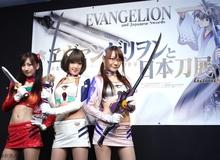 Triển lãm cosplay Evangelion và Kiếm cực chất tại Nhật Bản