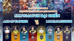 Sao AOE Việt và VEC Fantasy Main đại chiến Show Match Mobile Legends
