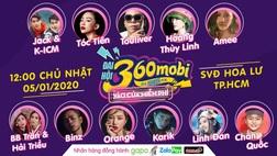 """Đại hội 360mobi 2020: Hoàng Thùy Linh, Karik và hàng loạt sao lớn của showbiz Việt """"đổ bộ"""