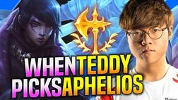 (Video Vietsub) Teddy quẩy tung rank Hàn với tướng mới Aphelios, khẳng định