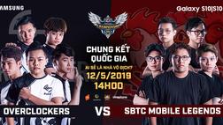 Đánh giá thực lực OverClockers và SBTC Mobile Legends, ai sẽ trở thành đại diện Việt Nam vươn ra đấu trường quốc tế?