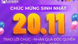 20/11 - Bùng Nổ Sinh Nhật Mobile Legends: Bang Bang VNG Tròn 02 Tuổi Với Kho Quà Độc Quyền Cực Chất